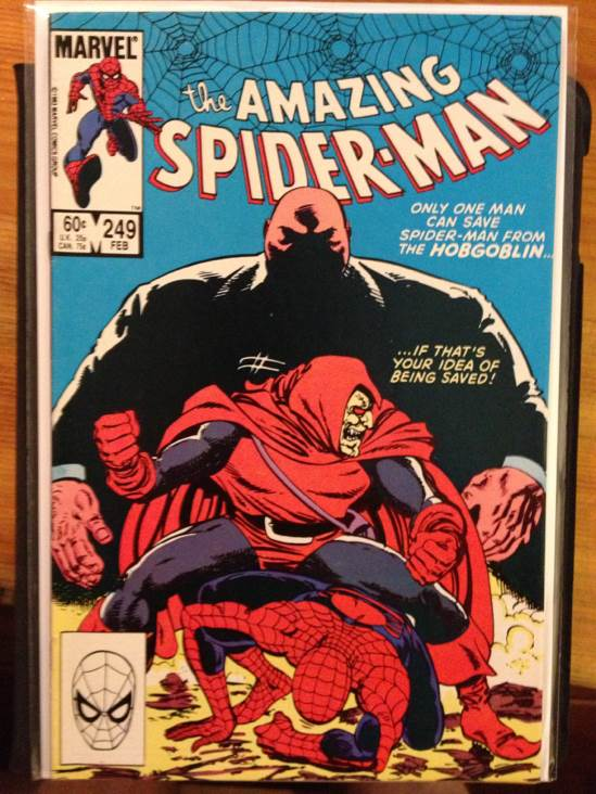 The Amazing Spider-man - 249 cover