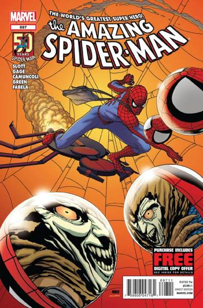 The Amazing Spider-man - 697 cover