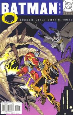 Batman - 606 cover