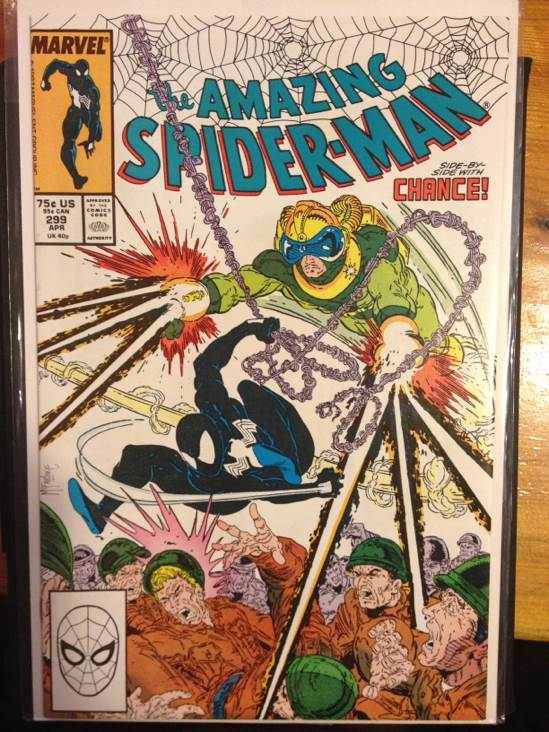 The Amazing Spider-man - 299 cover