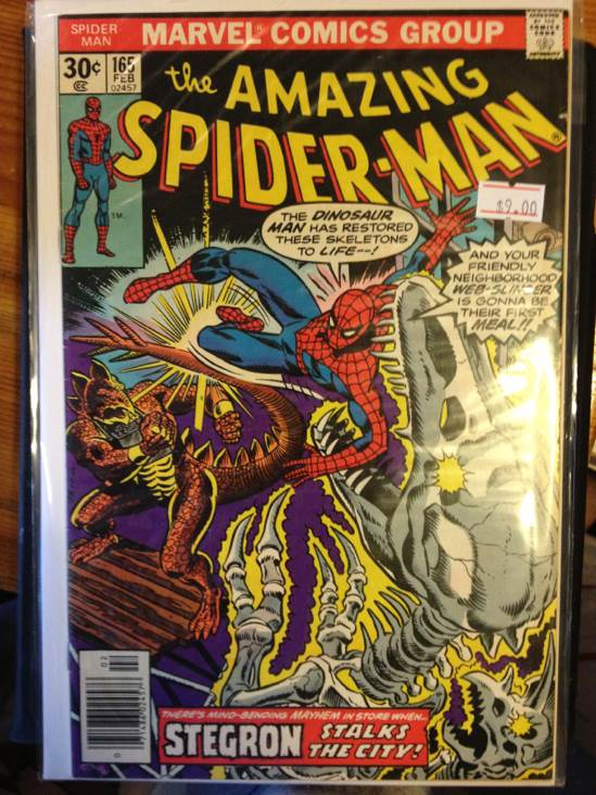 The Amazing Spider-man - 165 cover