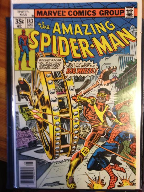 The Amazing Spider-man - 183 cover