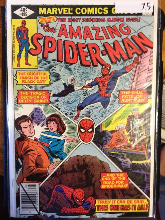 The Amazing Spider-man - 195 cover