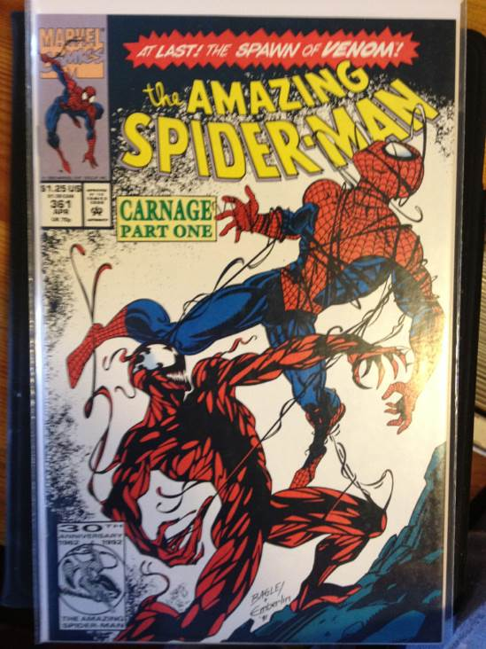 The Amazing Spider-man - 361 cover