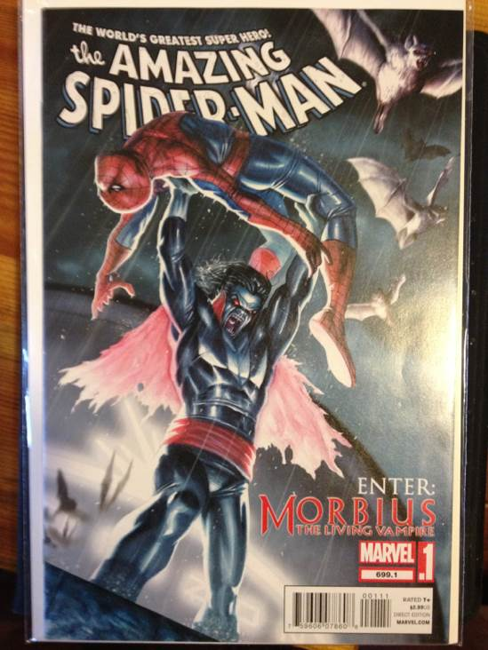 The Amazing Spider-man - 699.1 cover