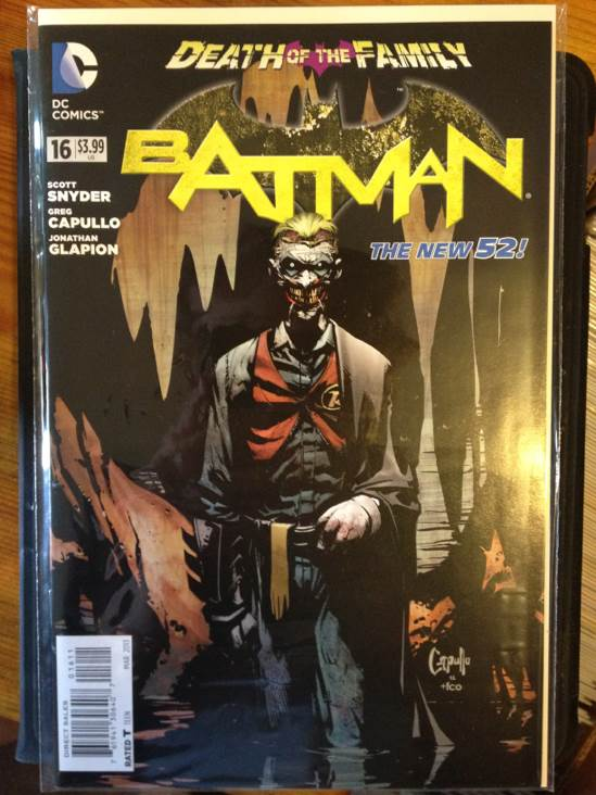 Batman - 16 cover