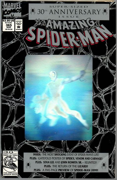 The Amazing Spider-man - 365 cover