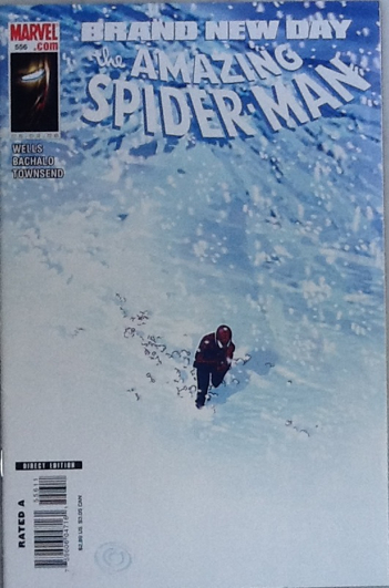 The Amazing Spider-man - 556 cover
