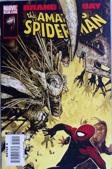The Amazing Spider-man - 557 cover