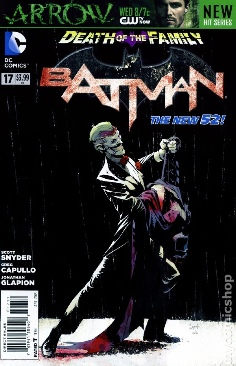 Batman (2011 2nd Series) - 17 cover
