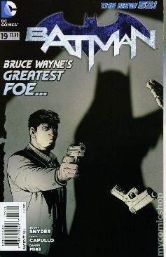 Batman (2011 2nd Series) - 19 cover