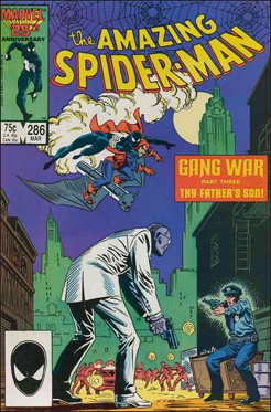The Amazing Spider-man - 286 cover