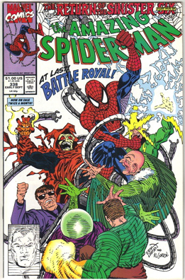 The Amazing Spider-man - 338 cover
