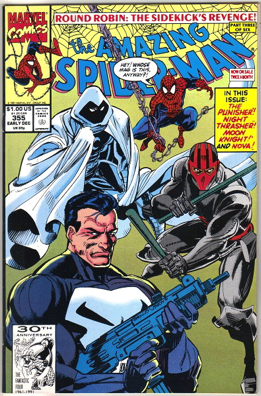 The Amazing Spider-man - 355 cover