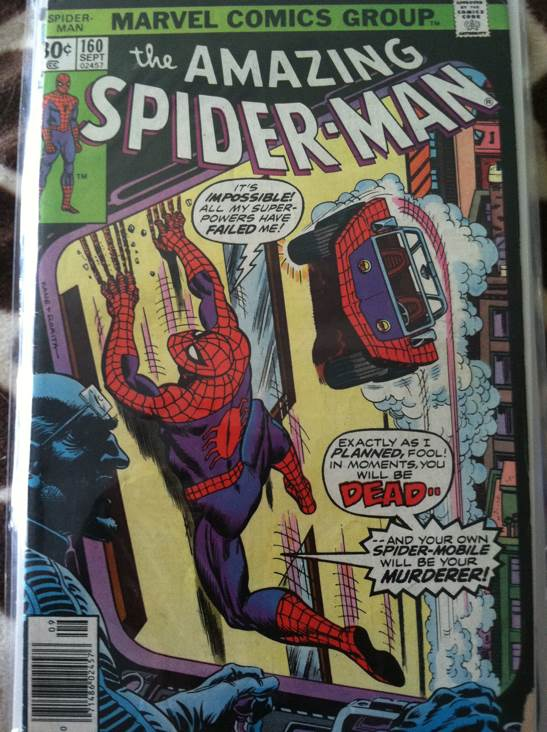 The Amazing Spider-man - 161 cover