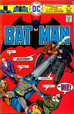 Batman - 273 cover