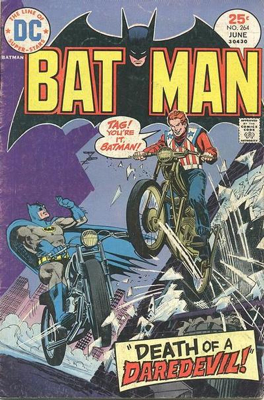 Batman - 264 cover