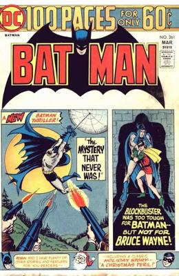 Batman - 261 cover
