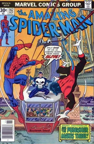 The Amazing Spider-man - 162 cover