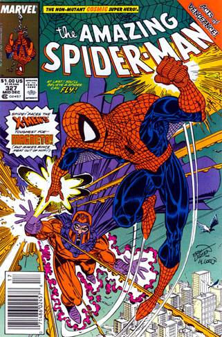 The Amazing Spider-man - 327 cover