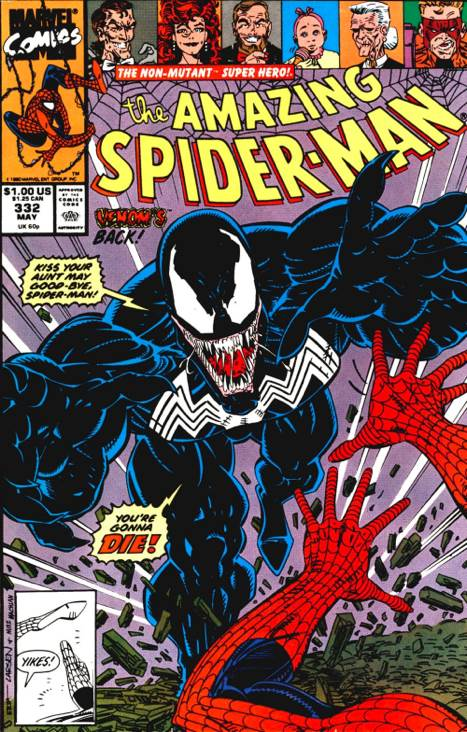 The Amazing Spider-man - 332 cover