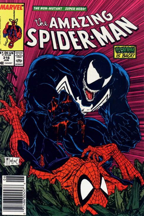 The Amazing Spider-man - 316 cover