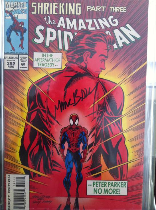 The Amazing Spider-man - 392 cover