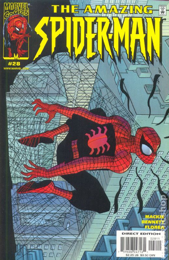 The Amazing Spider-man - 28 cover