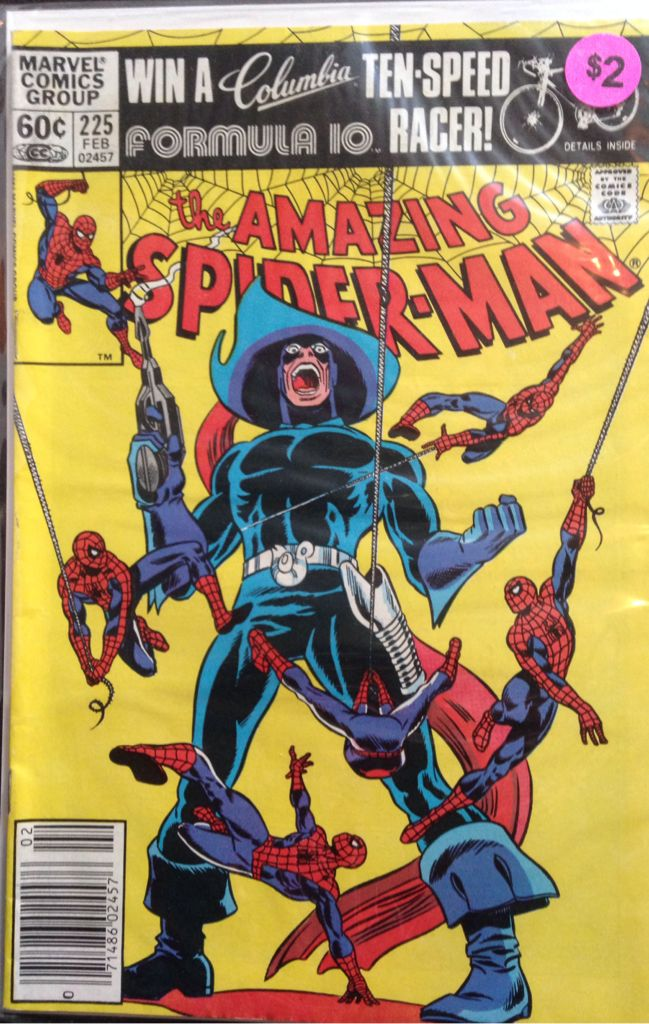 The Amazing Spider-man - 225 cover