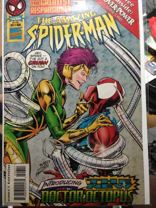 The Amazing Spider-man - 406 cover