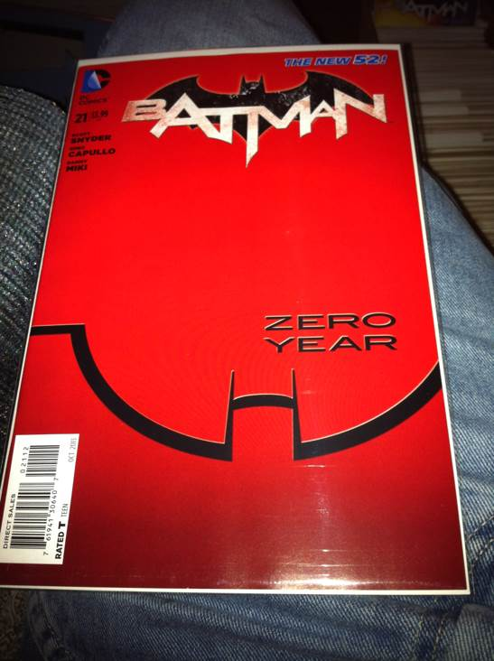 Batman - 21 cover