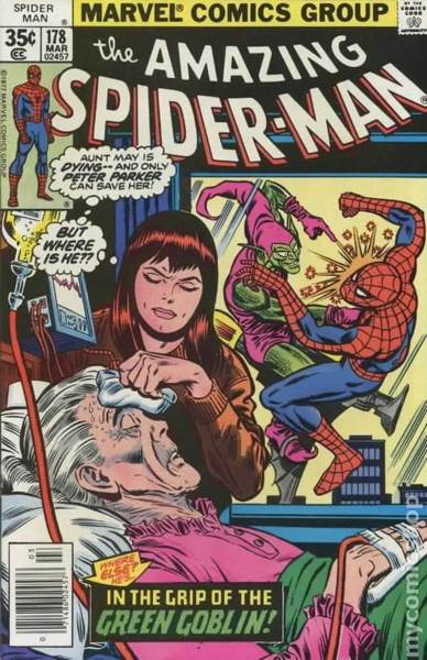 The Amazing Spider-man - 178 cover