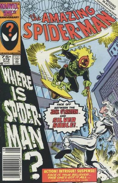 The Amazing Spider-man - 279 cover
