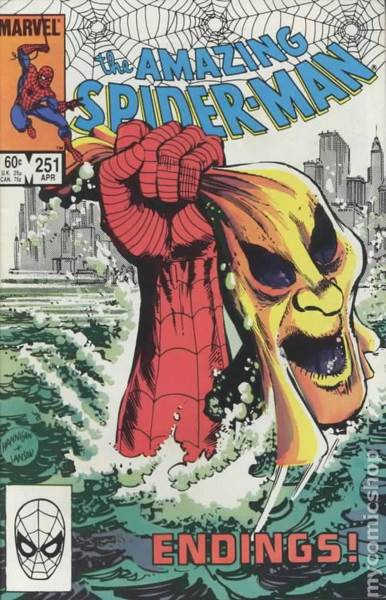 The Amazing Spider-man - 251 cover