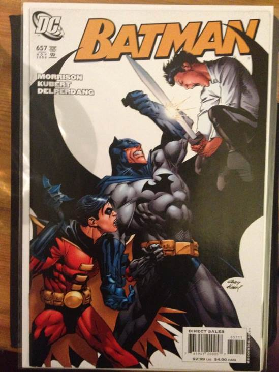 Batman - 657 cover