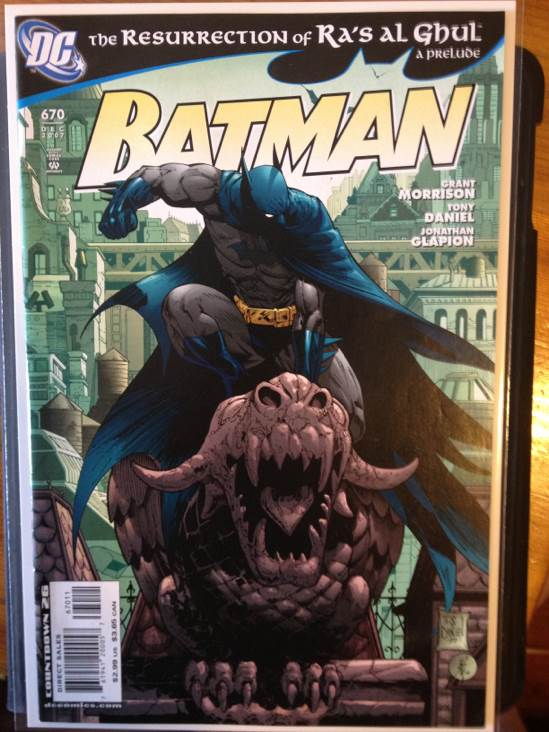 Batman - 670 cover