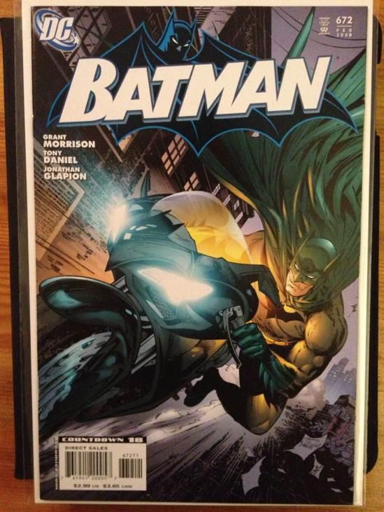 Batman - 672 cover