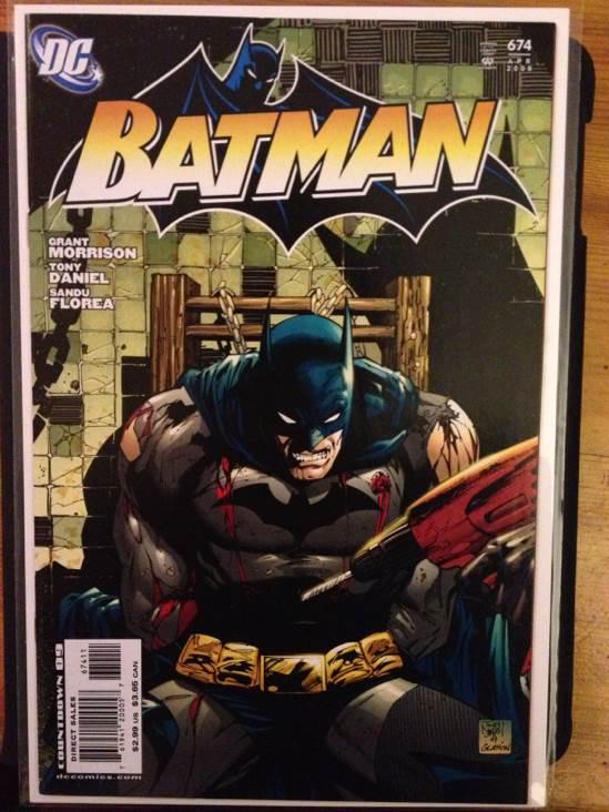 Batman - 674 cover