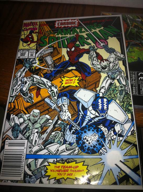 The Amazing Spider-man - 360 cover