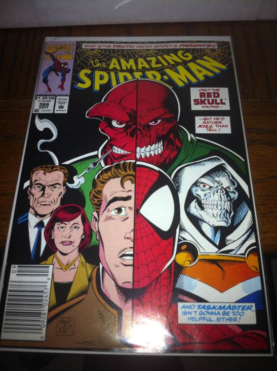 The Amazing Spider-man - 366 cover