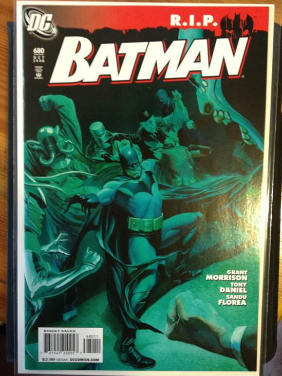 Batman - 680 cover