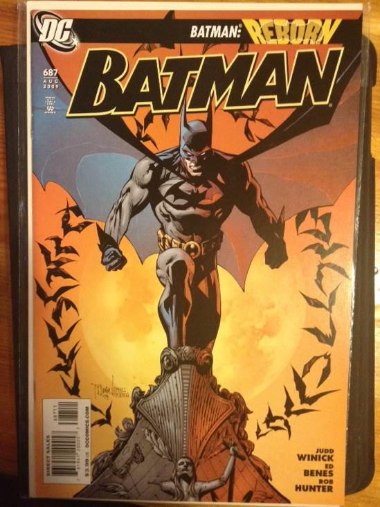 Batman - 687 cover