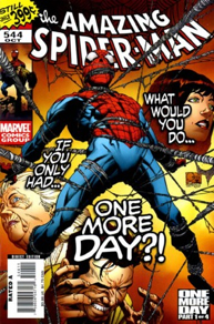 The Amazing Spider-man - 544 cover