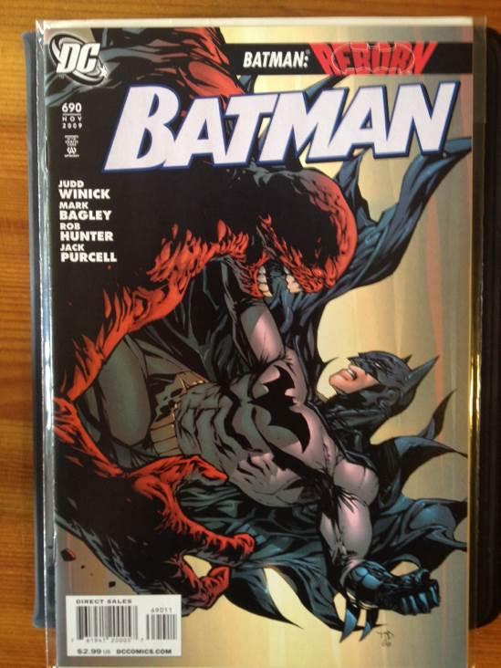 Batman - 690 cover