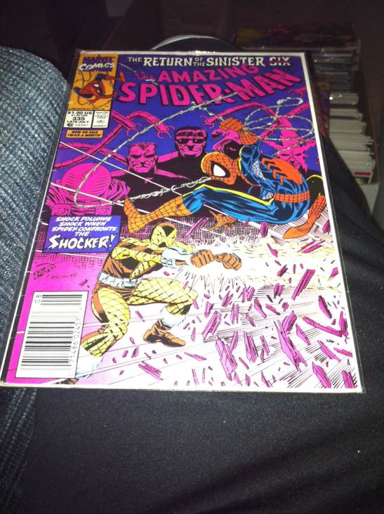 The Amazing Spider-man - 335 cover