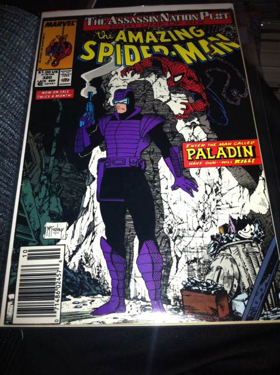 The Amazing Spider-man - 320 cover