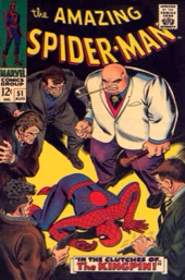 The Amazing Spider-man - 51 cover