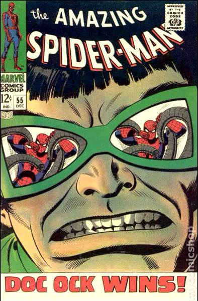 The Amazing Spider-man - 55 cover