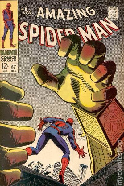 The Amazing Spider-man - 67 cover