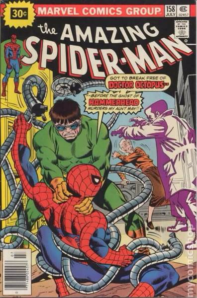 The Amazing Spider-man - 158 cover
